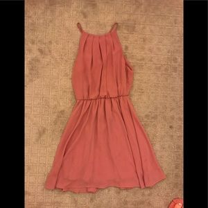 Blush pink dress from Lush